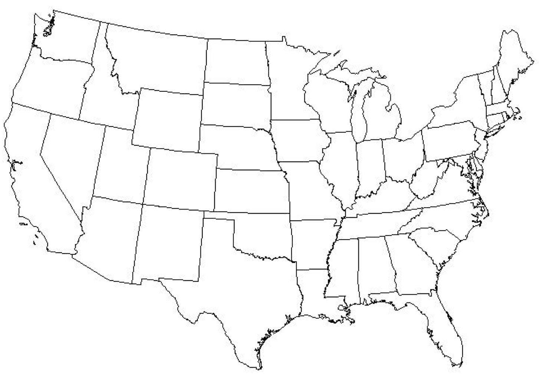 Usa Sager Karta Quiz Usa Sager Fragesport Karta Nordamerika Och